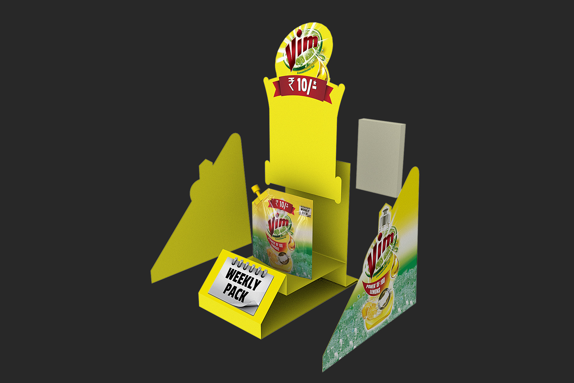 Vim weekly Dispenser Design