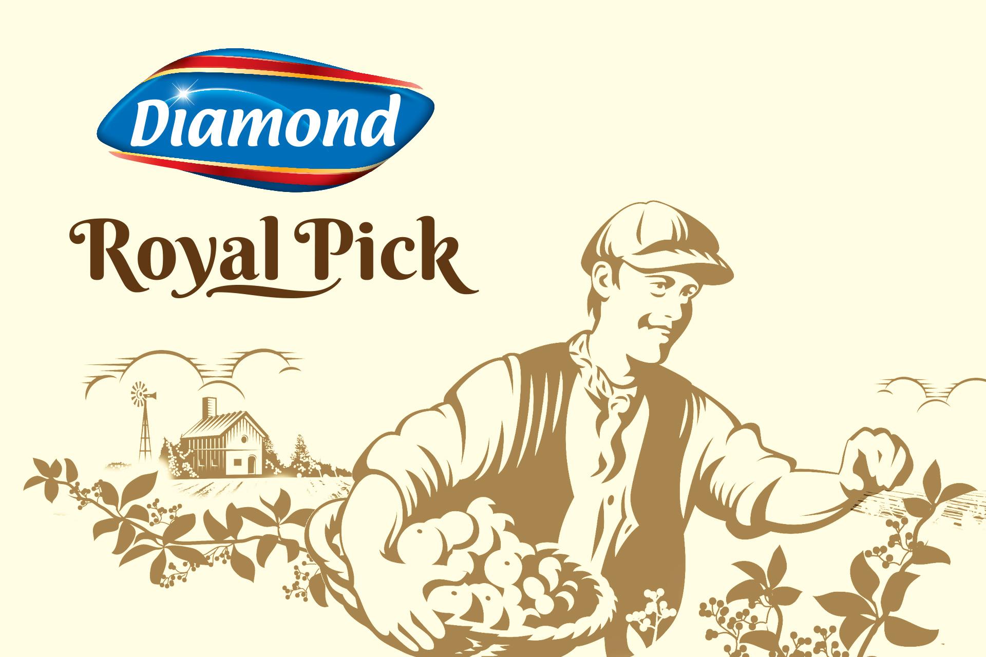 Diamond Royal Pick Preserve
