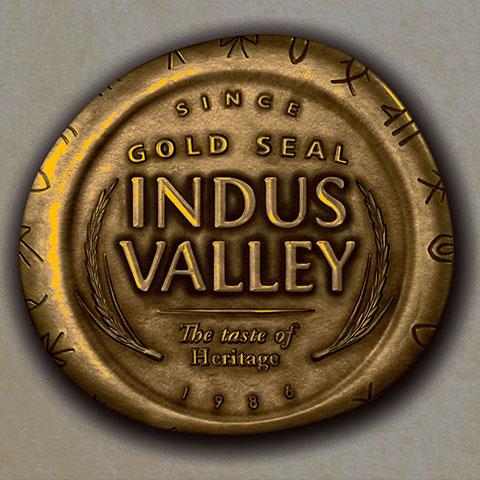 Brand Identity for Gold Seal Indus Valley Rice Brand of HUL