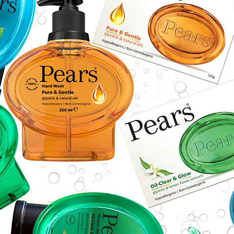 packaging design for Pears