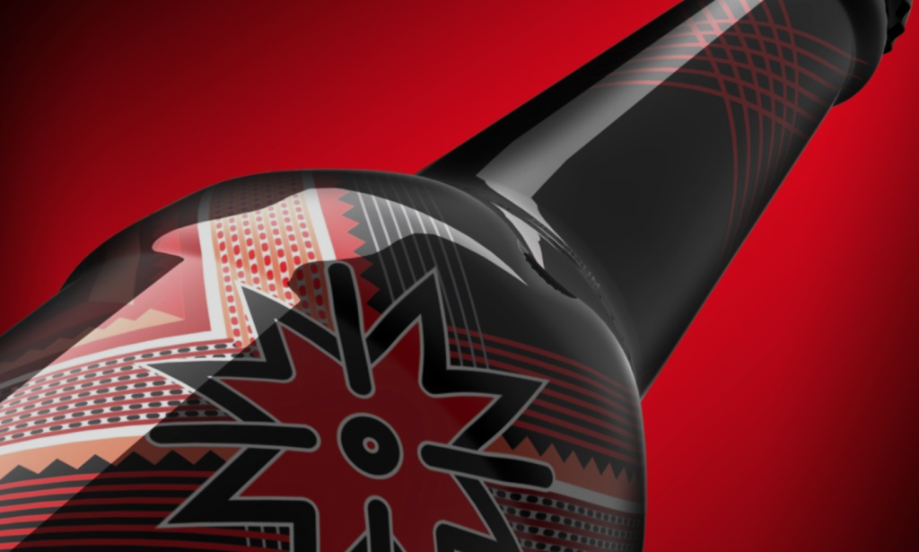 Momentum Ice - Alcohol bottle Packaging Design